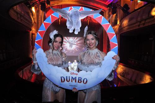 Dumbo, Disney, Fotoprop, custom fotoframe, entertainment, mobiel entertainment