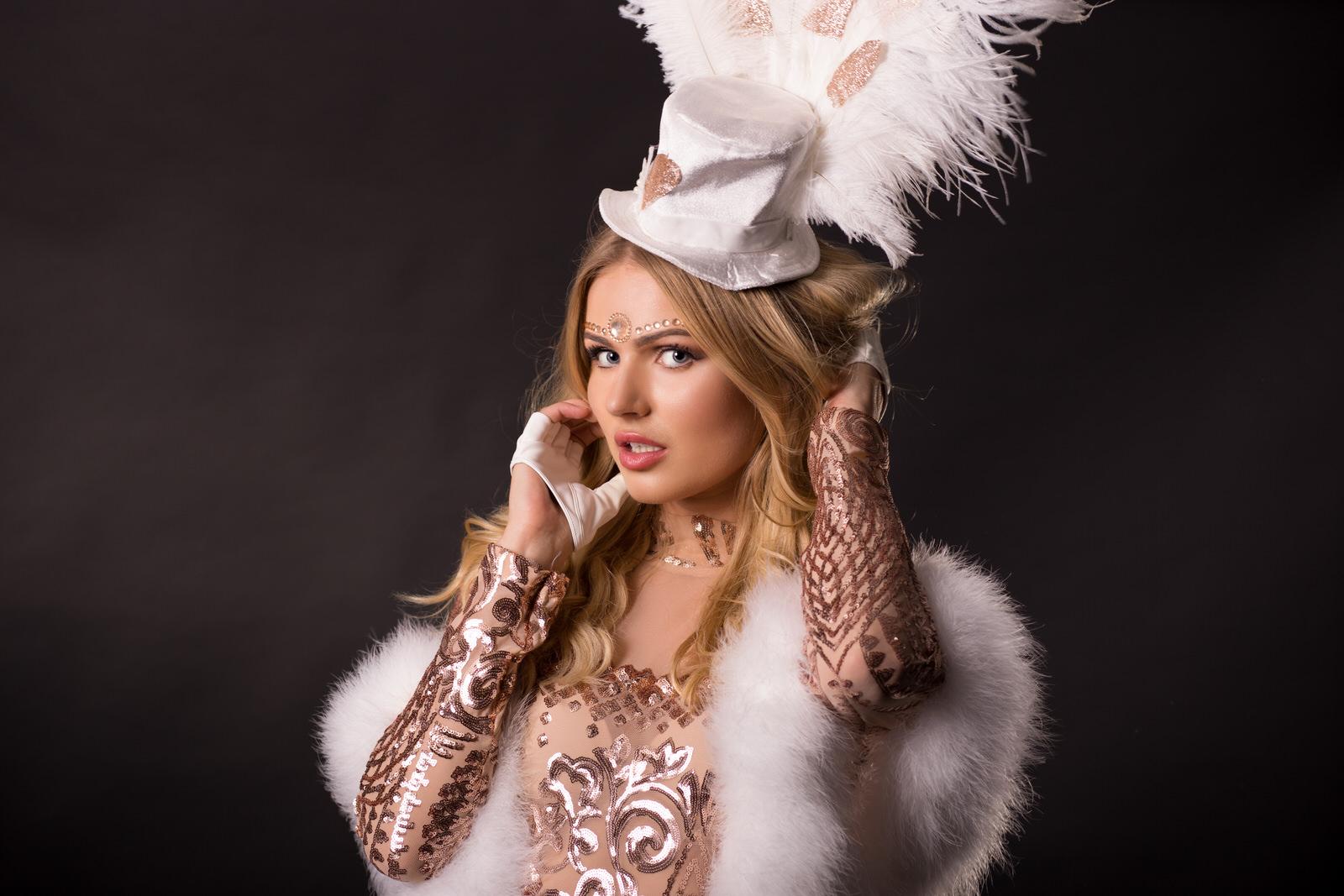 Casino Las Vegas Themadame, promogirl, danseres