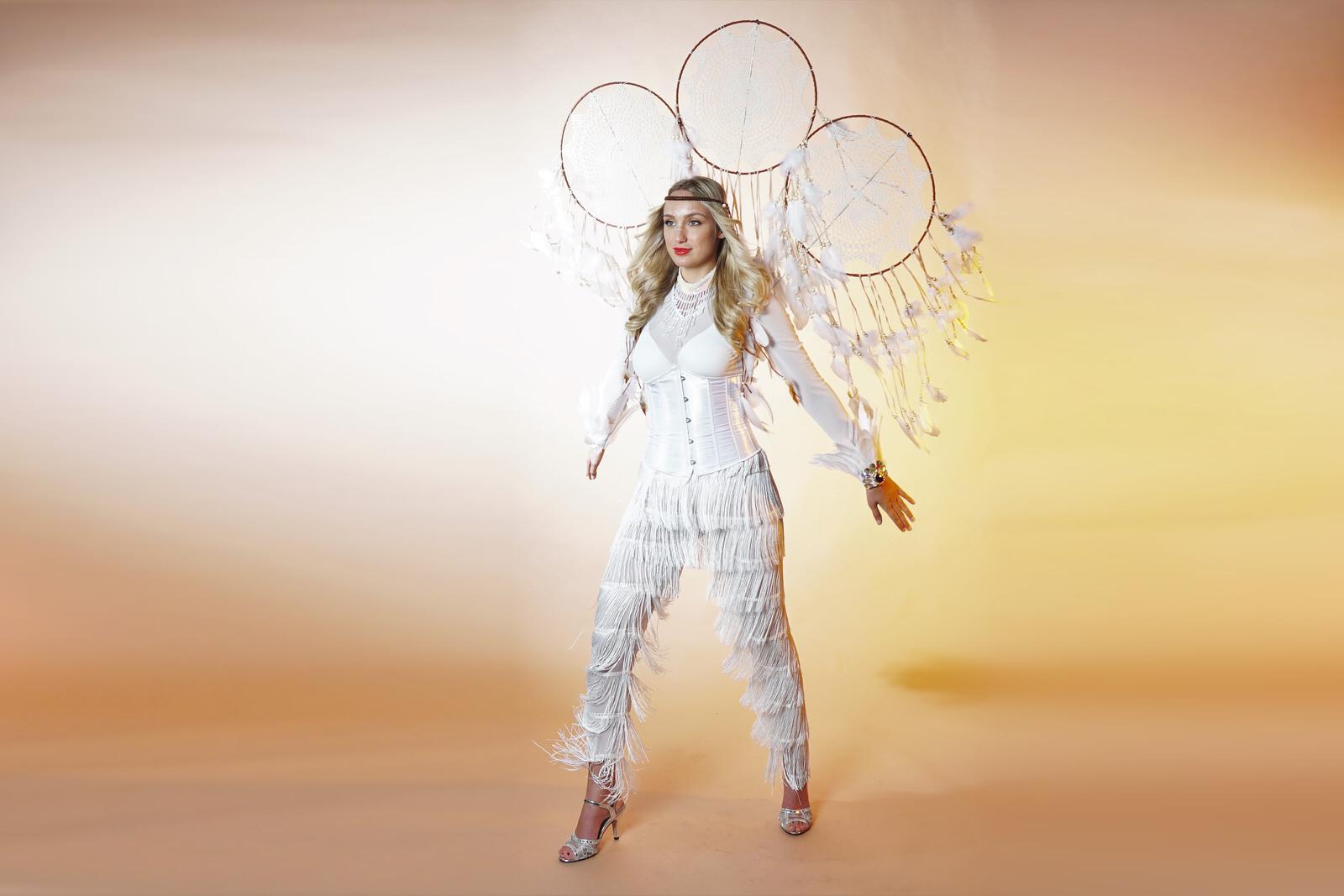 Dromenvanger, dream catcher, wit thema, thema event, zomer thema, thema kostuum, mobiel entertainment, event entertainment