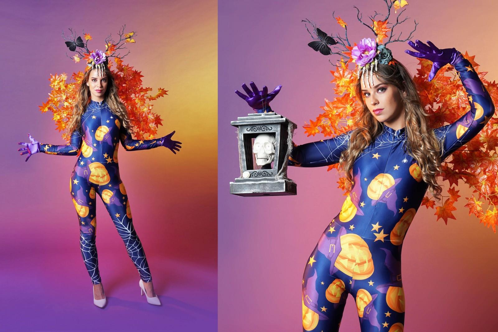 Halloween kostuum, Halloween party, pompoen, herfst, entertainment