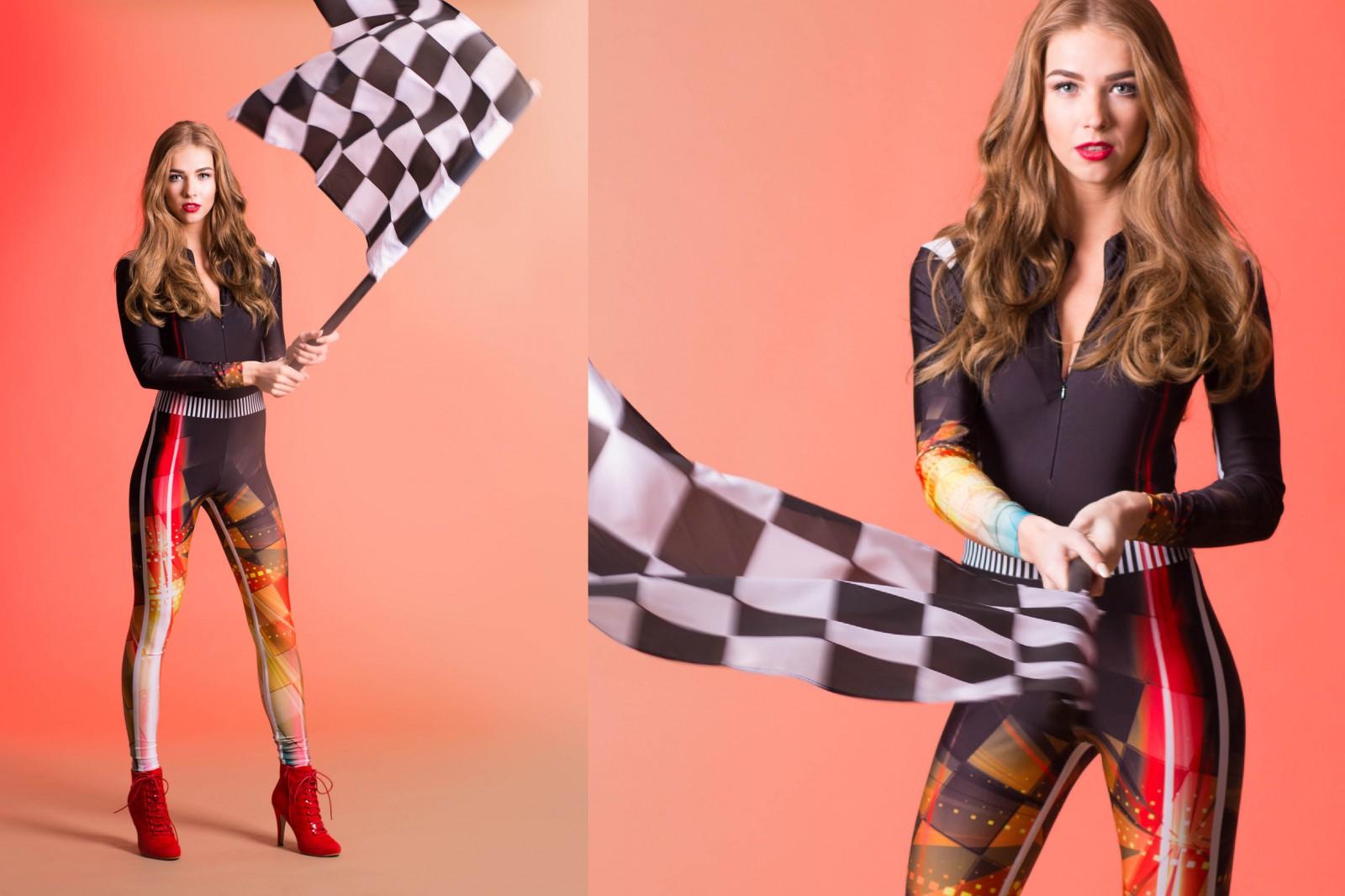 speed, vlaggendame, racing, pitspoes, snelheid, racetrack, raceauto, gridgril, entertainment