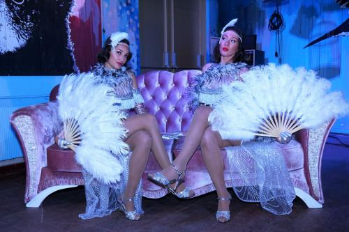 Great Gatsby, Roaring 20-ties, New York, Broadway, Charleston, Dans entertainment, Gatsby show danseressen