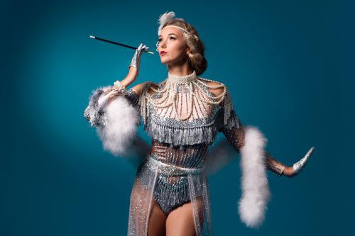 Great Gatsby, Roaring 20-ties, New York, Broadway, Charleston, Dans entertainment, Gatsby show danseressen