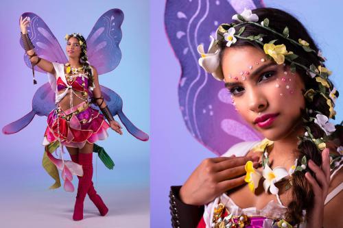 Fairy, magic, feeënkostuum, fantasy events, LED vleugels, forrest fairy