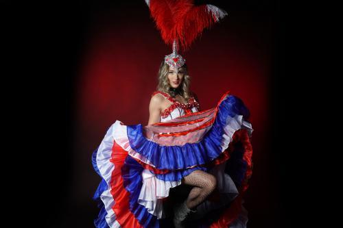 Can Can danseressen, moulin rouge, Parijs dans entertainment, show danseressen, Burlesque show, dinnershow, entertainment Heroes