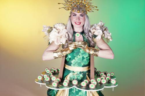 Geluksdag, Complimentendag, Saint Patrick's Day, USA, Candy Girls