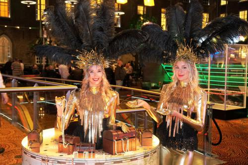 Golden treasure, gouden thema, goud thema, thema kostuum, mobiel entertainment, event entertainment