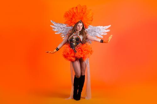 Dutch Girl, summer event, vip-angel, Oranje boven, festival dancer