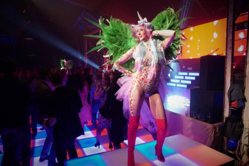 Unicorn danseres, Magical entertainment, Showpony, Rainbow girl, Dreamfields, Magisch, Fantasy promotie, Fantasy Themes, Thema Dames, Eenhoorn.