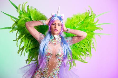 Unicorn danseres, Magical entertainment, Showpony, Rainbow girl, Dreamfields, Magisch, Fantasy promotie, Fantasy Themes, Freestyle Danseres, Colorful Dancer.