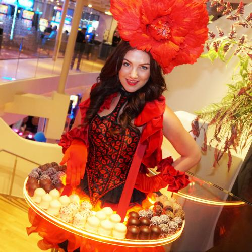 Valentijn Candy Girl, Chocolate Girl, Valentijn Candy dame