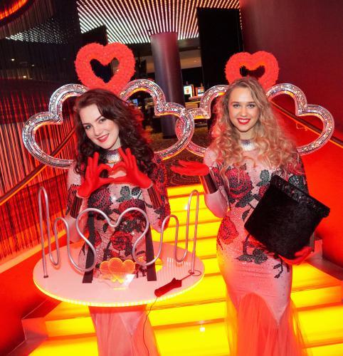 Signaal spel, Valentijn, Liefde Thema, Rozen Thema, Liefde, Dress, Rood, Roze, Hart, Zilver