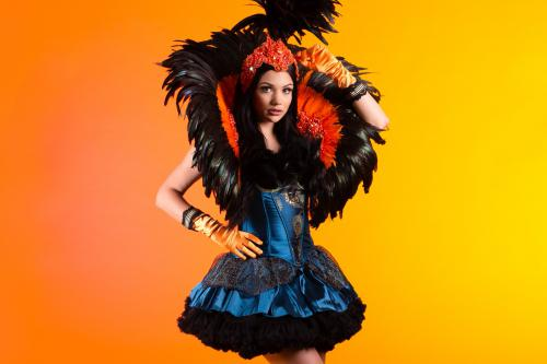 Peacock, Golden Wings, Fairy Tail, Dancer, Freestyle Dancer, Thema Event, Peacock Feathers, Burlesque.