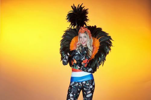 Mobiel entertainment, thema kostuum, thema entertainment, thema event, event entertainment, photo act, polaroid act, hollands thema