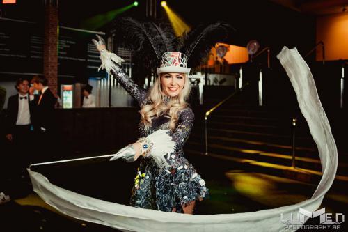 Silk dancer, Mirror costume, Spiegelpak, freestyle danser, freestyle dancer, dans act, thema kostuum, themafeest, thema,