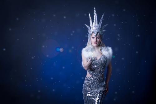 Christmas, Snow Queen, Halloween, Sneeuw Koningin, Kerst Entertainment, Ijssclupturen, Theater Danseres, Bling Bling, Thema Dames.