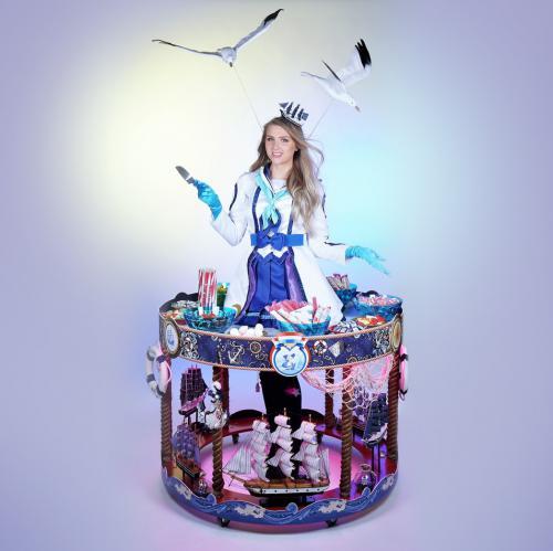 Hollandse themadame, Helemaal Hollands, Haringmeisjes, Haring Party, Klompendames, Tulpendames, Delfsts Blauw, Holland Jurk, Hollanse Glorie, Flying Dutch, Kaasdame