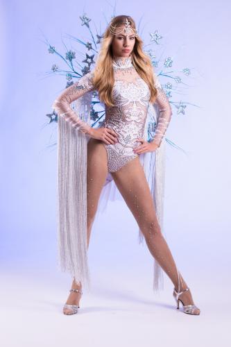 Dancing Act, Winterssprookje, Frozen Snow Dancer, Freestyle Dancer, Entertainment, Themadames, Winter Dame.