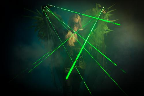 Laser Party, Lasershow, Disco Entertainment, Club Promotie, Entertainment, Dansact, Green Lasershow, Themadame, Laser Angel.