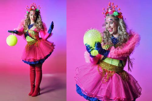 90ties, festival kostuum, flower power, disco, back in the days, entertainment