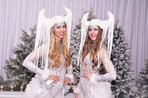 White Vikings, Kerst entertainment, Kerst, Winter Wonderland, Snow, Event entertainment, Danseressen, Frozen