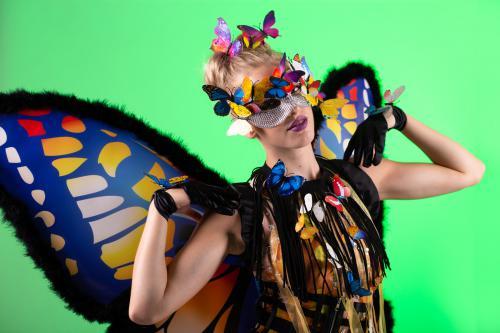Vlinderdame, Zomerse Feesten, Summer Events, Fantasy Entertainment, Themadame, Promotieteam, Beautiful Butterfly, Freestyle Danseres, Dance Act.
