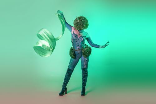 Nature event, Green eco entertainment, Danseressen, Artistieke act, mobiel event entertainers
