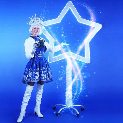winter, elegance, snow, snow queen, ice blue, polaroid, foto, foto act, polaroid act, led, led ster, ster, star, camera, polaroidcamera, coronaproof, statief, fotoframe, photoframe
