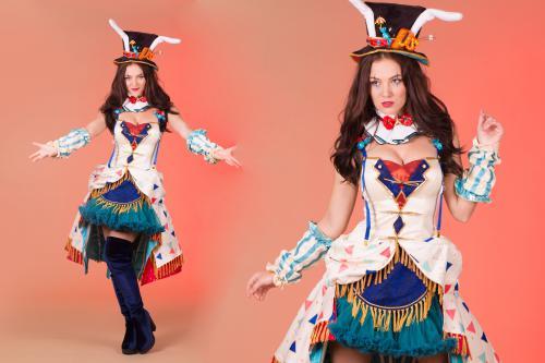 circus, candygirl, sweet, theater, spreekstalmeester, curtains, rollergirl, balloon buffet