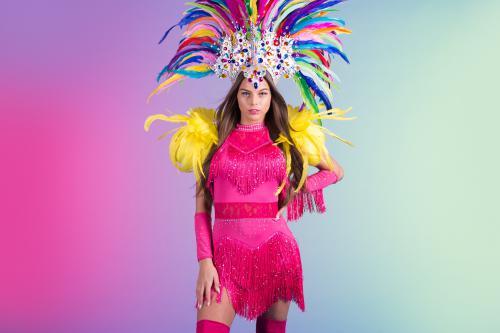 latin salsa, salsa act, brazilian summer, summer event, pink lady, pink summer girl