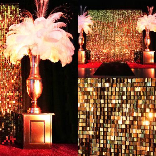 James Bond, Gouden achterwand, pailettenwand, Gatsby, Royal Casino
