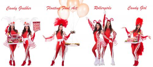 Candygirl, Rollergirl, Disco Night Fever, Disco Party, Funky Night, American USA event, Seventies Party, Disco event