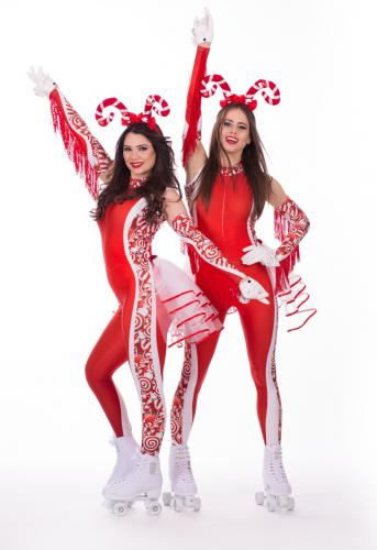 Candy, Sweet, Candygirl, Candy Girls, Showgirl, Las Vegas, American event, USA, Roller Girls, Candy Tray Rolschaatsen, Zoet, Rollergirls