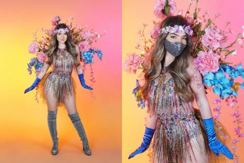 Bloemenkostuum, bloemen hostess, Flowe Girls, Hippy, Festival, Boho, Flower hosts, Zomer styling