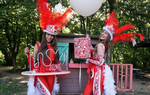 lspel bij het Cupido Festival