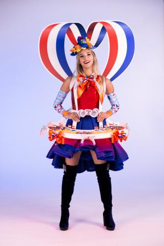 Hollands Glorie, Dutch Girl, Hollandse Hapjes dame,Food Entertainment