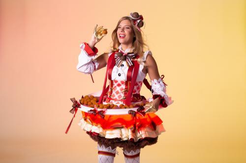Bitterbal Dame, Hollandse Hapjes, Dutch theme, Event Food, Food Entertainment, Bitterballen Presentatie