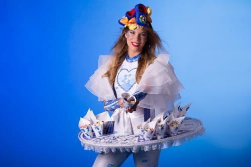 Delfts Blauw, Hollandse Dames, Holland thema, Dutch Girl, Hollands Glorie, Dutch Candy, Candygirl, Stroopwafels, Food Entertainment