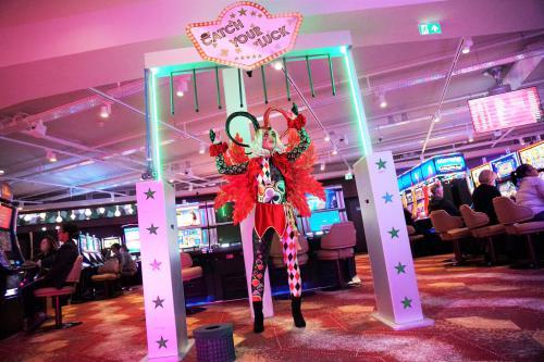 Catch Your Luck, Mobiel event spel, event entertainment, Thema casino, Las Vegas, Joker, Spelletjes entertainment
