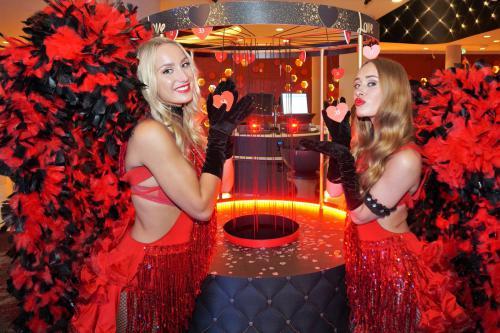 Event entertainment, mobiel spel, liefde en geluk, Valentijn, Love is in the air, event spel, thema entertainment