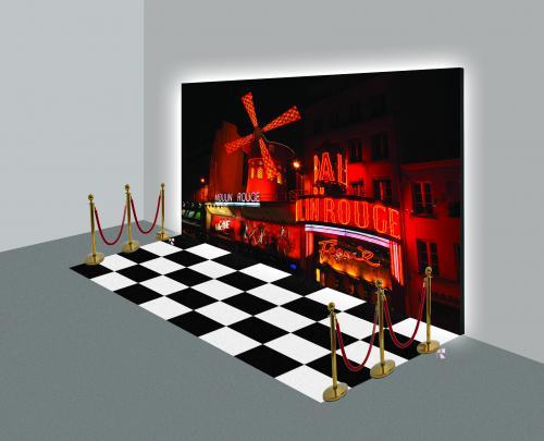 Moulin Rouge, Valentijn, Revue, Las Vegas, event decoratie, event decors, aankleding