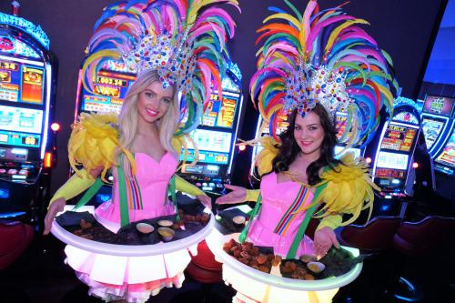 Levende LED tafel, LED entertainment, welkomstact, hostess, carnival thema, Promotie, event act, food display, luxe catering, Themadames